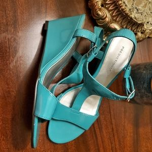 Teal Predictions Sandals
